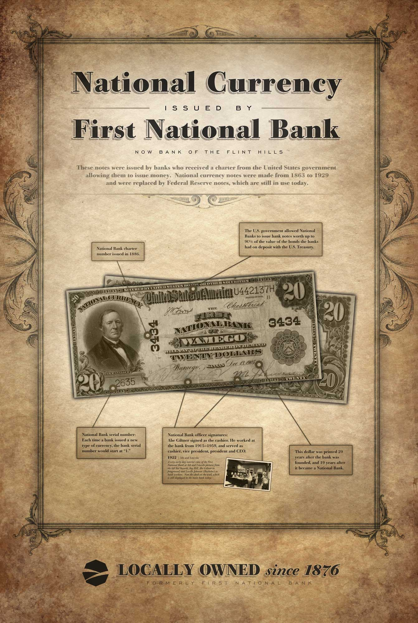 Click to view First National Bank Currency